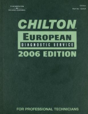 Chilton European Diagnostic Service: Audi, BMW, Mini, SAAB, VW - Thomson Delmar Learning (Creator)