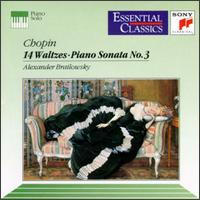 Chopin: 14 Waltzes; Piano Sonata No.3 - Alexander Brailowsky (piano)