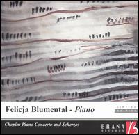 Chopin: Piano Concerto; Scherzos - Felicja Blumental (piano); Innsbruck Symphony Orchestra; Robert Wagner (conductor)