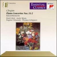 Chopin: Piano Concertos Nos. 1 & 2 - André Watts (piano); Emil Gilels (piano)