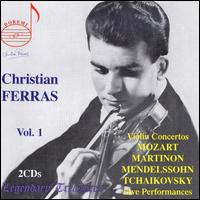 Christian Ferras, Vol. 1 - Christian Ferras (violin)