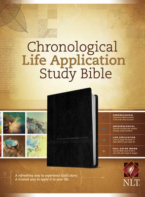 Chronological Life Application Study Bible-NLT - Tyndale House Publishers (Creator)