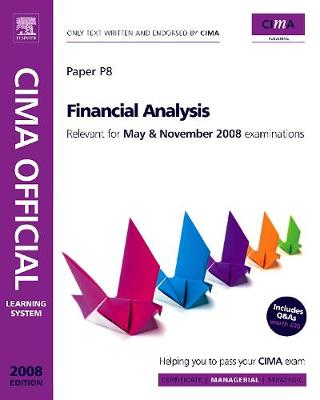 Cima Official Learning System Financial Analysis - Gowthorpe, Catherine