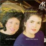 Clara Wieck Schumann: Lieder of Clara Schumann