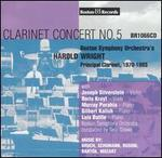 Clarinet Concert No. 5