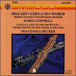 Clarinet Concertos by Mozart, Copland & Weber