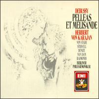 Claude Debussy: Pell�as et M�lisande - Christine Barbaux (soprano); Frederica Von Stade (soprano); Jos� van Dam (bass); Nadine Denize (mezzo-soprano); Pascal Thomas (bass); Richard Stilwell (baritone); Ruggero Raimondi (bass); Herbert von Karajan (conductor)