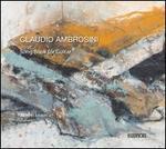 Claudio Ambrosini: Song Book for Guitar