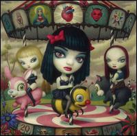 Clear Hearts Grey Flowers - Jack Off Jill