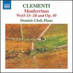 Clementi: Monferrinas, WoO 15-20 and Op. 49