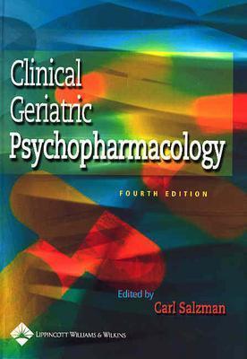 Clinical Geriatric Psychopharmacology - Salzman, Carl, MD (Editor)