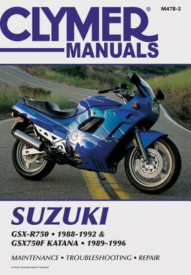 Clymer Suzuki GSX-R750 1988-1992 and GSX750F Katana 1988-1996 - Penton