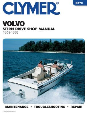 Clymer Volvo stern drive shop manual, 1968-1993. -