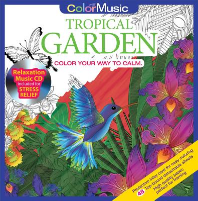Color with Music Tropical Garden - Newbourne Media