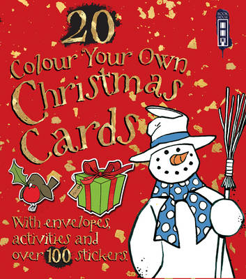 Colour Your Own Christmas Cards -