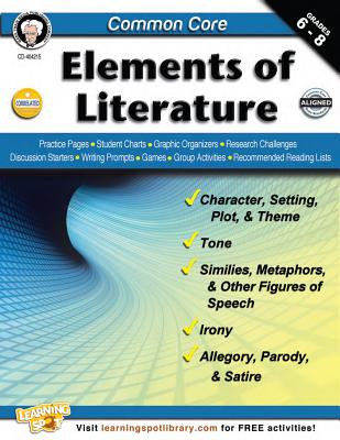 Common Core: Elements of Literature, Grades 6 - 8 - Armstrong, Linda