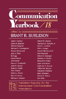 Communication Yearbook - Burleson, Brant R, Dr. (Editor)