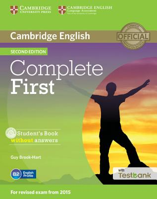 Complete First Student's Book Without Answers with Testbank - Brook-Hart, Guy