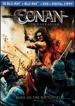 Conan the Barbarian [2D/3D] [Blu-ray/DVD] [3 Discs]