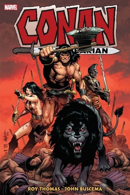 Conan the Barbarian: The Original Marvel Years Omnibus Vol. 4 - Thomas, Roy (Text by), and Summer, Ed (Text by)