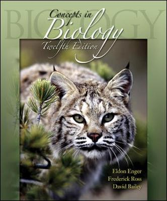 Concepts in Biology W/Aris Bind in Card - Enger, Eldon, and Enger Eldon
