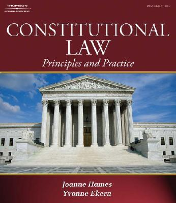 Constitutional Law: Principles and Practice - Hames, Joanne Banker