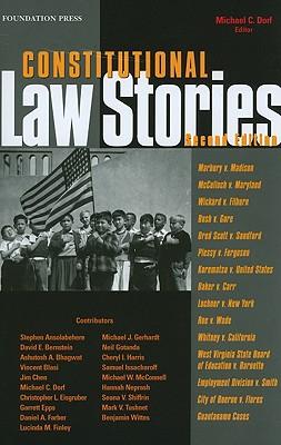 Constitutional Law Stories - Dorf, Michael C
