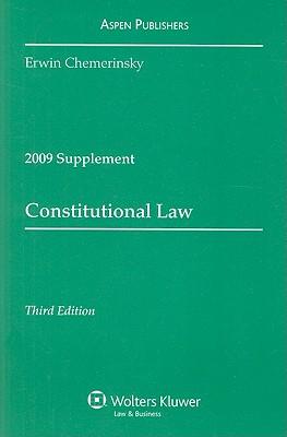 Constitutional Law, Supplement - Chemerinsky, Erwin