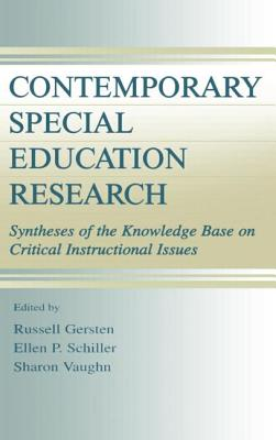 Contemporary Special Education CL - Gersten, Russell Monroe (Editor), and Schiller, Ellen P (Editor), and Vaughn, Sharon (Editor)