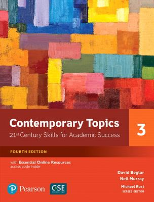 Contemporary Topics 3 with Essential Online Resources - Beglar, David