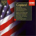 Copland: Piano Quartet; Sonata for violin & piano; Rodeo; Duo for flute & piano