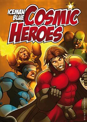Cosmic Heroes - Iceman Blue