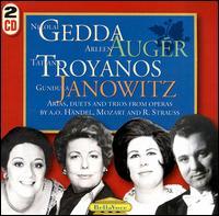 Arias, Duets and Trios from Operas by H�ndel, Mozart and Richard Strauss - Nicolai Gedda/Arleen Auger/Tatiana Troyanos/Gundula Janowitz