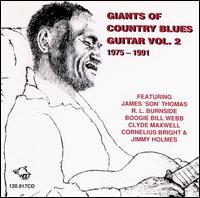Giants of Country Blues Guitar, Vol. 2 - Various Artists