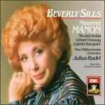 Manon / Beverly Sills, Gedda, Souzay, Bacquier; Rudel