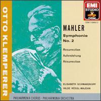 "Mahler: Symphony No. 2 ""Resurrection"" - Elisabeth Schwarzkopf (soprano); Hilde Rossel-Majdan (mezzo-soprano); Philharmonia Orchestra"
