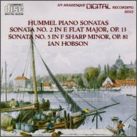 Hummel: Piano Sonatas, Vol. 2 - Ian Hobson (piano)