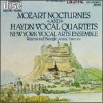 Mozart Nocturnes and Haydn Vocal Quartets