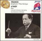 Franck: Symphony; Pi�ce h�ro�que; d'Indy: Istar