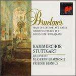 Bruckner: Mass in E minor; Ave Maria; Christus Factus Est; Locus Iste; Virga Jesse