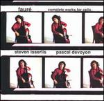 FaurT: Complete Works for Cello