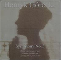 Henryk G�recki: Symphony No. 3 - Dawn Upshaw (soprano); London Sinfonietta; David Zinman (conductor)