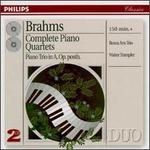 Brahms: Complete Piano Quartets