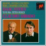 Brahms: Double Concerto in A Minor, Op. 102; Berg: Chamber Concerto