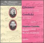 Glazunov: Piano Concertos Nos. 1 & 2; Goedicke: Concertstnck, Op. 11