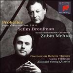 Prokofiev: Piano Concertos Nos. 2 & 4 / Overture on Hebrew Themes