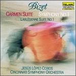 Georges Bizet: Carmen Suite/Symphony No. 1/L'Arlesienne Suite No. 1
