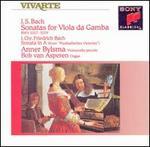 J.S. Bach: Sonatas for Viola da Gamba; J.C.F. Bach; Sonata in A
