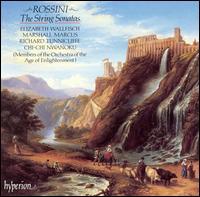 Rossini: The String Sonatas - Chi Chi Nwanoku (double bass); Elizabeth Wallfisch (violin); Marshall Marcus (violin); Richard Tunnicliffe (cello)