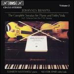 Brahms: The Complete Sonatas for Piano and Violin/Viola, Vol. 2